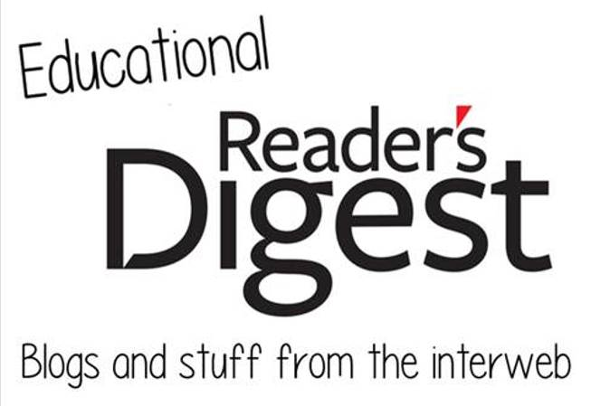 Educational Reader's Digest | Friday 11th August – Friday 18th August