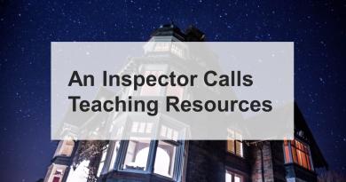 An Inspector Calls Teaching Resources