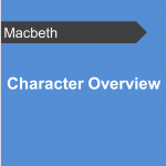 Character Overview - Macbeth Teaching Resource