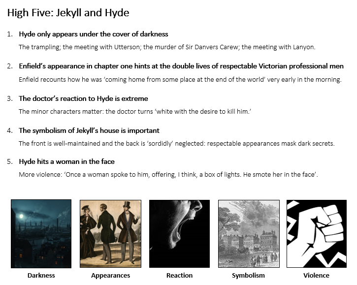 High Five Jekyll and Hyde