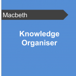 Knowledge Organiser - Macbeth Teaching Resource