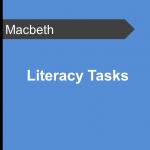 Literacy Tasks - Macbeth Teaching Resource