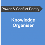 AQA Power and Conflict Poetry - Knowledge Organiser