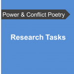 AQA Power and Conflict Poetry - Research Tasks