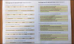 Three GCSE English Literature Multiple-Choice Quizzes