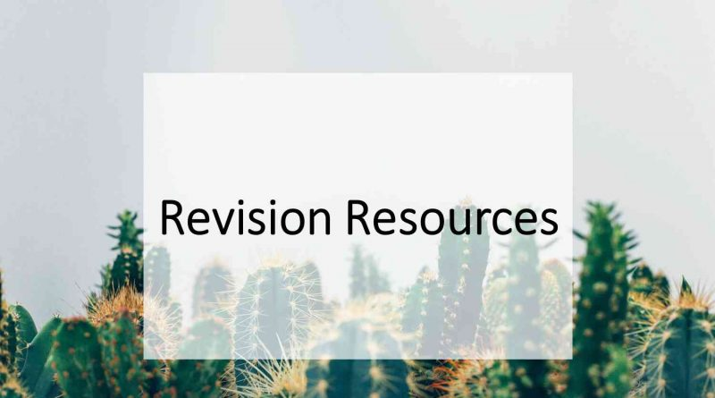 Revision Resources