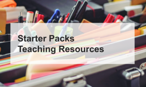 Teaching Resources Starter Packs