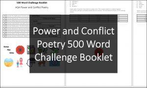 Power Conflict 500 Word Challenge