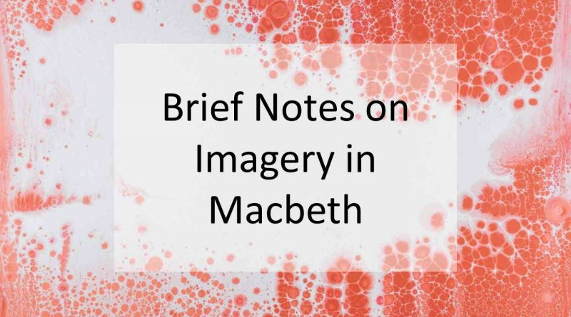 Imagery Macbeth
