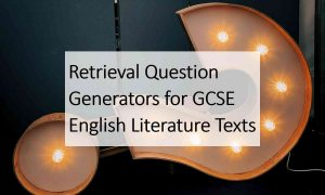 Retrieval Question GCSE