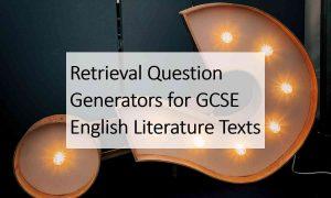 Retrieval Question GCSE