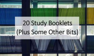 study booklets