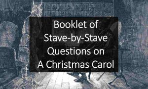 Booklet of Stave-by-Stave Questions on A Christmas Carol