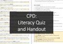 CPD: Literacy Quiz and Handout