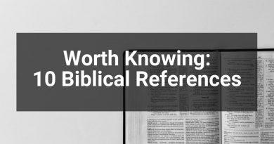 Biblical References